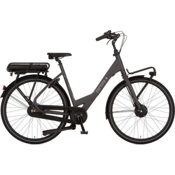 elektrische fiets kopen in Groningen Cortina e-common grijs