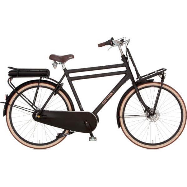 elektrische fiets kopen in Groningen Cortina transporter zwart