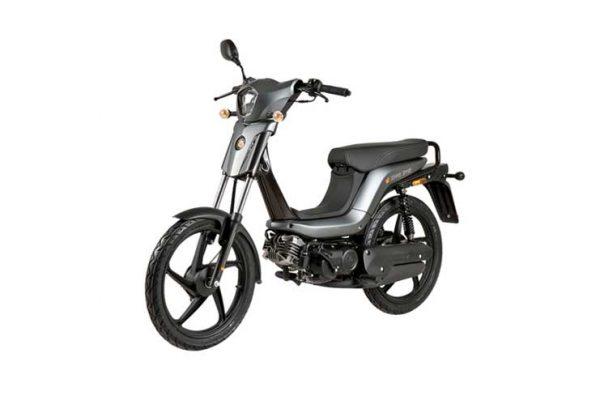 scooter kopen groningen Bye Bike One zilver bromscooter